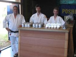 Trainer en hulptrainers afdeling judo